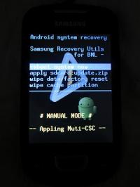 Motorola Milestone: Open Recovery - Minimod