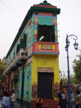 Caminito, del barrio de Boca, en Buenos Aires