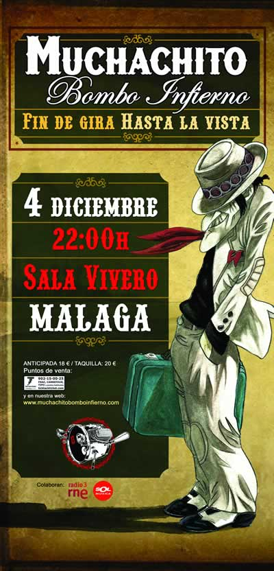 Muchachito Bombo Infierno - Málaga Sala Vivero