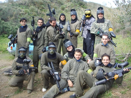 Paintball Málaga