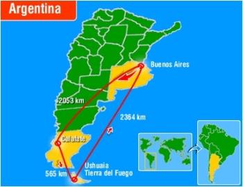Calafate y Ushuaia, viaje por Argentina
